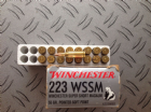Winchester .223 WSSM x 37 rounds